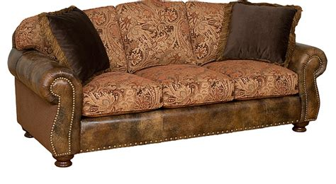 leather and fabric couches hart leather fabric sofa hat creek interiors llc
