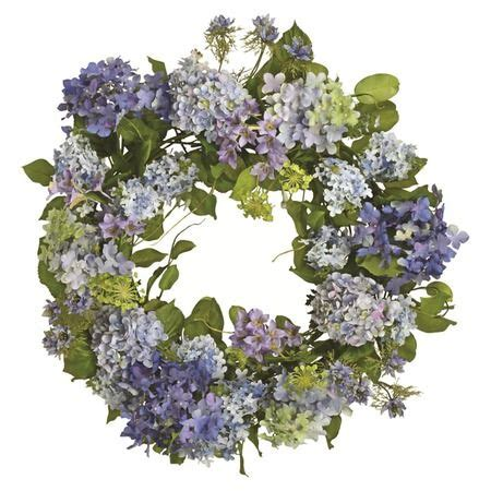 hydrangea wreath realistic bathroom ideas