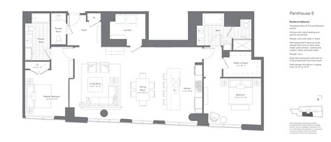Cliff May Vs Eichler by 2 Bedroom Penthouse Floor Plan Residences Glasshaus In