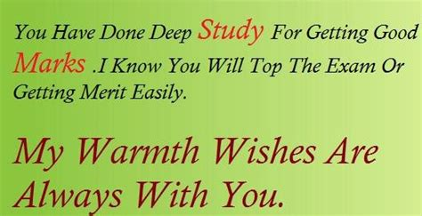 Exam wishes messages - Collection Of Inspiring Quotes ... Final Exam Wishes