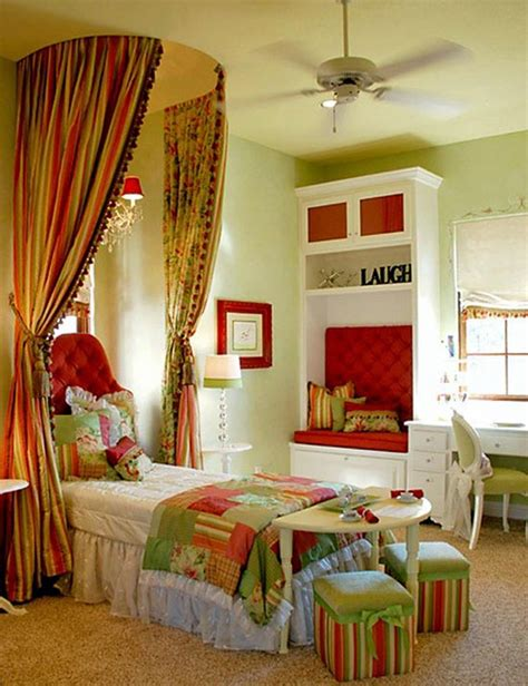 Red And Green Bedroom Ideas - red and green elegant kids room design house to home one day decorating