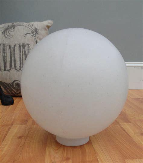 white plastic outdoor lighting big white plastic ball outdoor shade light fixture round