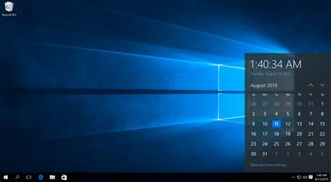 desktop bar on top how to remove the clock from the windows 10 taskbar