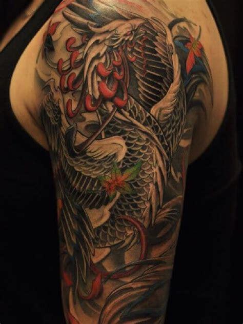phoenix tattoos  men rise   flames
