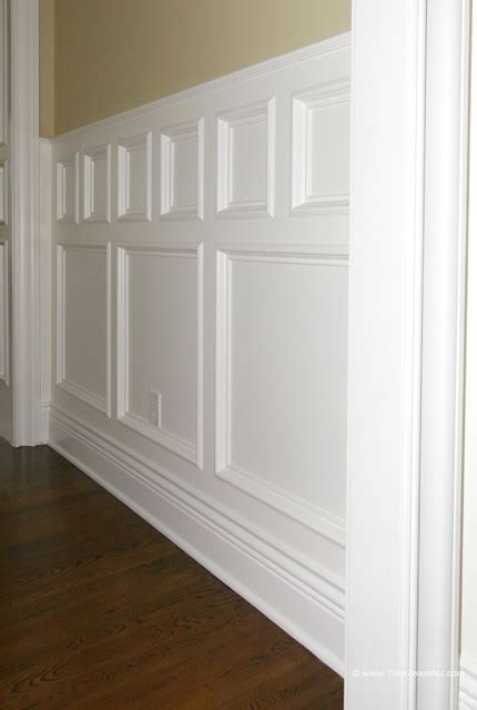 Houzz Wainscoting by Wainscot And Picture Frames Traditional By Trim Team Nj