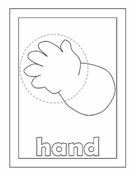 Body Parts Coloring Pages Coloring Home Coloring Pages Parts