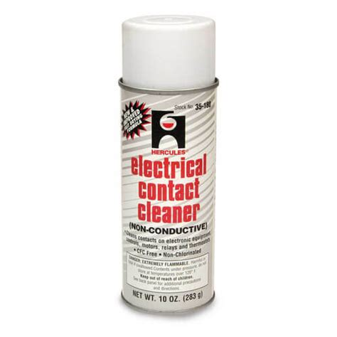 electrical cleaner 35180 hercules 35180 electrical contact cleaner non