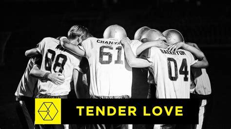 exo tender love exo tender love korean version audio youtube