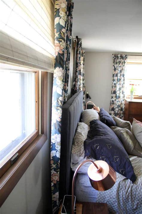 how to hang a door as a headboard curtains behind headboard curtain menzilperde net