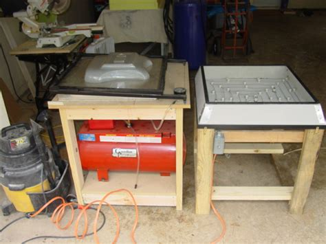 Vacuum Forming Table by Hauntersdigest Build Your Own Vacuum Form Table Machine
