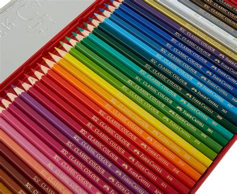Faber Castell Classic Colour Pencils 36 Pcs faber castell 36 classic colour pencils gift tin great daily deals at australia s favourite