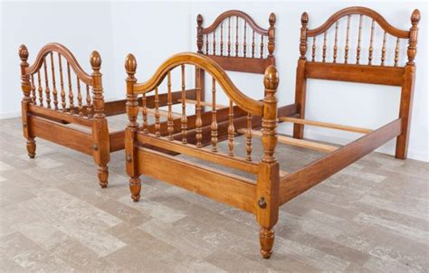 spindle twin bed spindle twin bed pair
