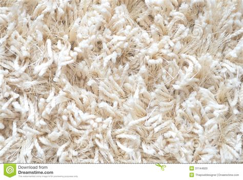 How To Clean A Fluffy Rug by White Carpet Fluffy Textile Stock Photo Image 31144920