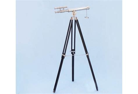 Telescope Floor L by Floor Standing Chrome Griffith Astro Telescope