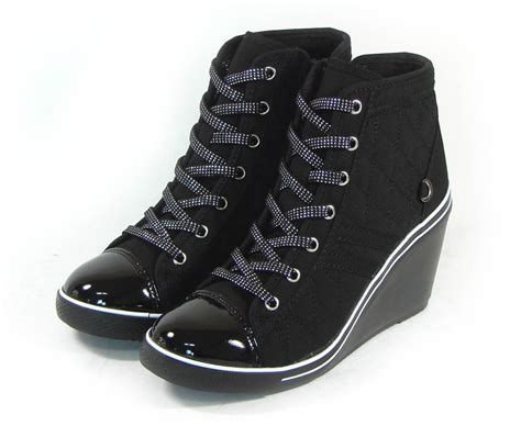im new wedge heel shoes for ankle boots casual