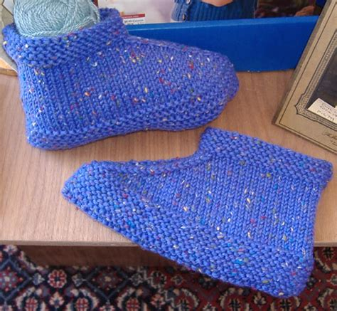 knitted slippers for toddlers knitting journal s space