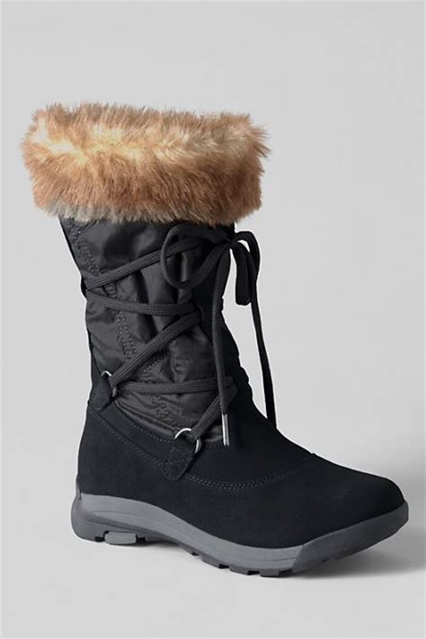 s darla snow boots from lands end boots