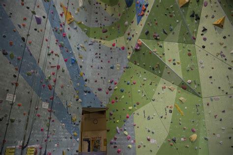 rock climbing wall background  stock photo public
