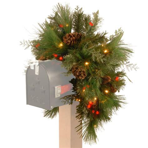 62 stimmungsvolle ideen f 252 r weihnachtsdekoration aussen - Mailbox Weihnachtsdekoration