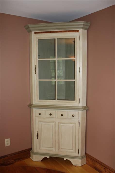 Refinishing Wood Cabinets Kitchen chalk painted corner hutch classic fauxs amp finishes