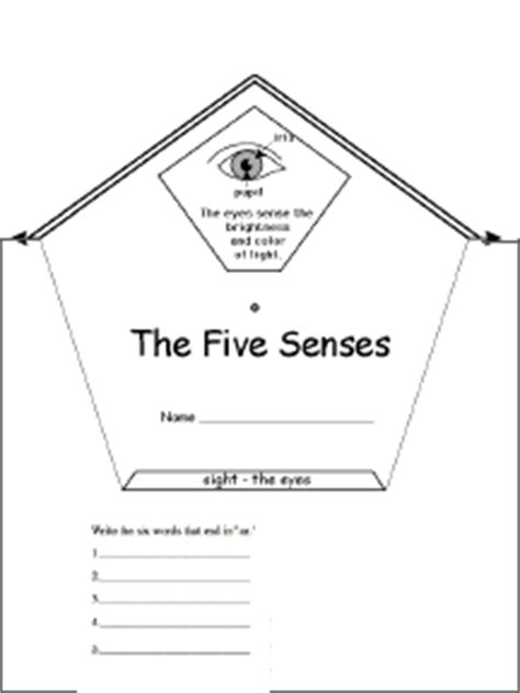 5 senses writing template five senses wheel printable worksheet enchantedlearning