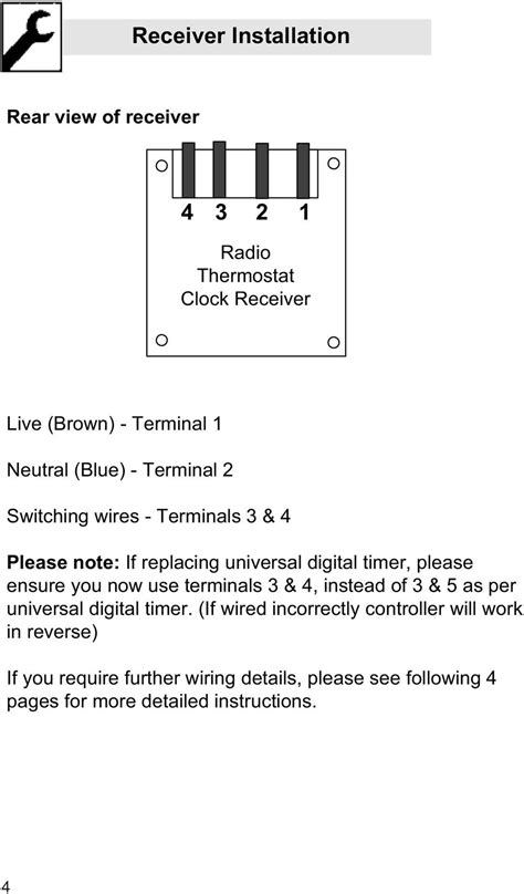 [OM_2826] Wiring A Thermostat Receiver Wiring Diagram
