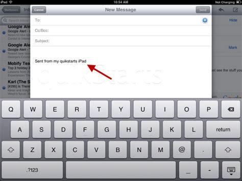 change layout email ipad 8