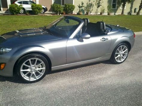 how to sell used cars 2012 mazda miata mx 5 user handbook sell used 2012 mazda mx 5 miata grand touring hardtop convertible only 2500 miles in sarasota