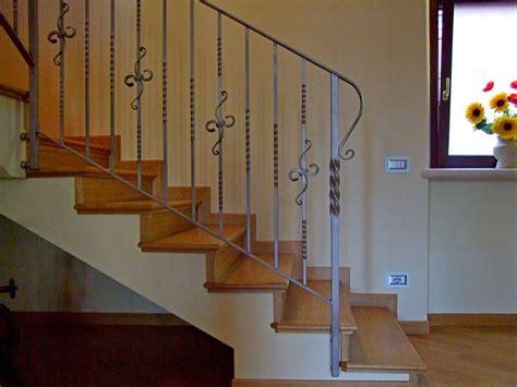 scale in ferro battuto per interni ringhiere ferro battuto per scale interne