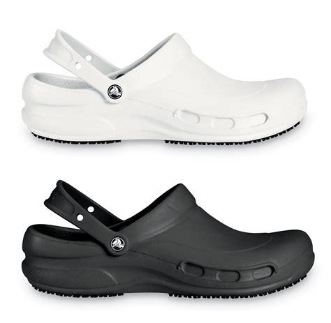 comfortable slip resistant work shoes crocs bistro comfort clogs work slip resistant genuine