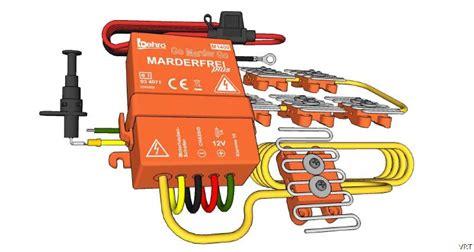 Marderabwehr Auto by Marderabwehr Multischock 3in1 12v