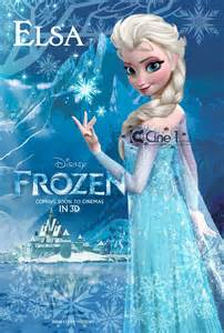 Frozen character posters revealed
