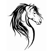 Bih Haired Horse Tattoo