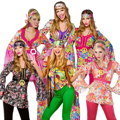 60er 70er 60s 70s groovy hippy flower power womens
