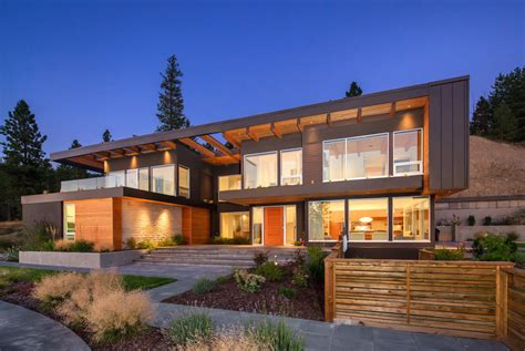 canadian style homes modern house