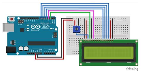 control  lcd display  arduino  examples