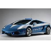 Widescreen Lamborghini Italian Police Car Wallpaper  HD