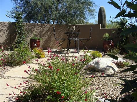 desert backyard design low maintenance front yard landscaping landscaping network