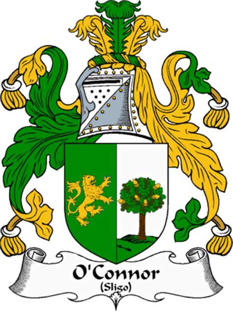 patrick duffy sligo irishgathering the o connor sligo clan coat of arms