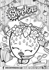 Shopkins season 2 colouring pages