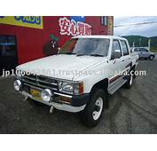 1988 Used Japanese Cars TOYOTA Hilux Pick Up Diesel RHD