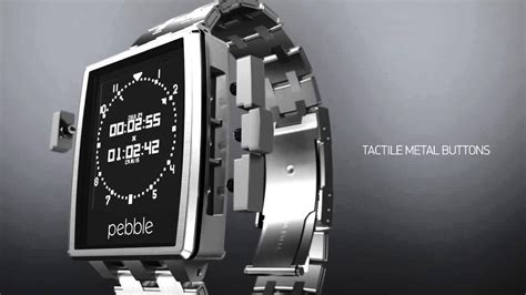 Introducing Pebble Steel Smart Watch   Official Launch Video   YouTube