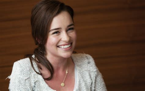 emilia clark emilia clarke smile hd wallpaper 781