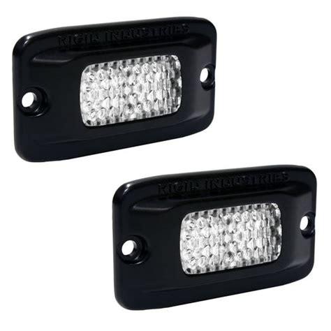 flush mount led lights truck rigid industries sr m flush mount backup led light kit