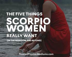 What Women Want In The Bedroom The Five Things Scorpio Women Really Want In The Bedroom