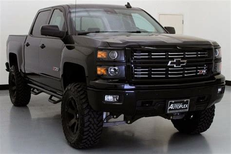 chevrolet silverado  ltz midnight edition custom