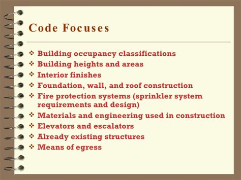 building codes and the design process