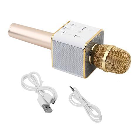 Obral Murah Mic Wireless Bluetooth Karaoke Q7 Quality ktv q7 wireless karaoke handheld microphone usb ktv player bluetooth mic speaker ebay