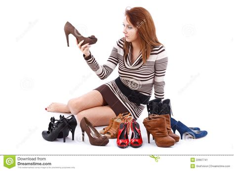 Floor Plan Designer Online woman and shoes stock image image 22667741