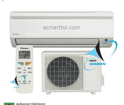 Ac Central Daikin daikin 1 ton ft15jxv1 wall mounted air conditioner price in bangladesh ac mart bd